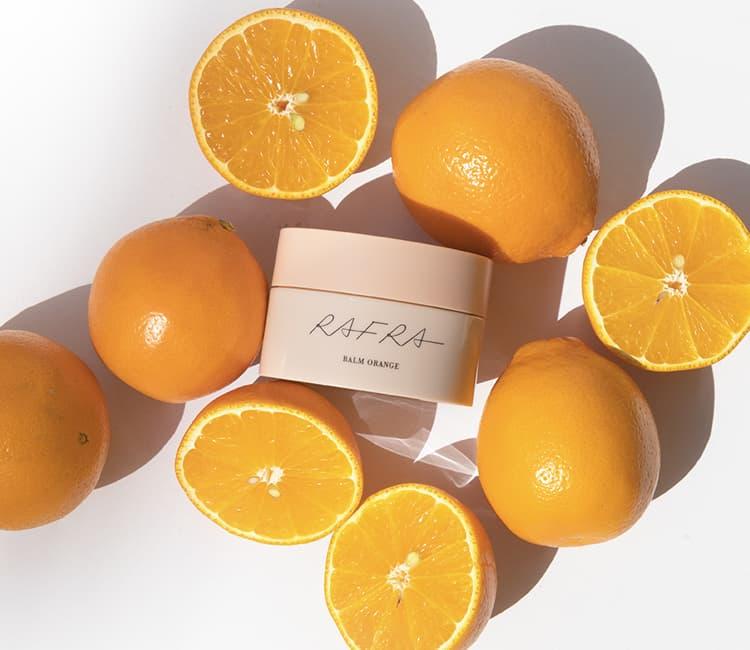 もぎたてのオレンジのような香り