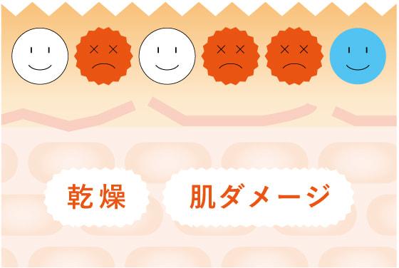 美肌菌イメージ図