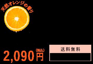 天然オレンジの香り 2090円
