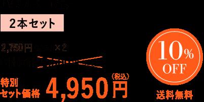 特別セット価格4950円